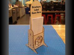 Brochure Stand dxf File