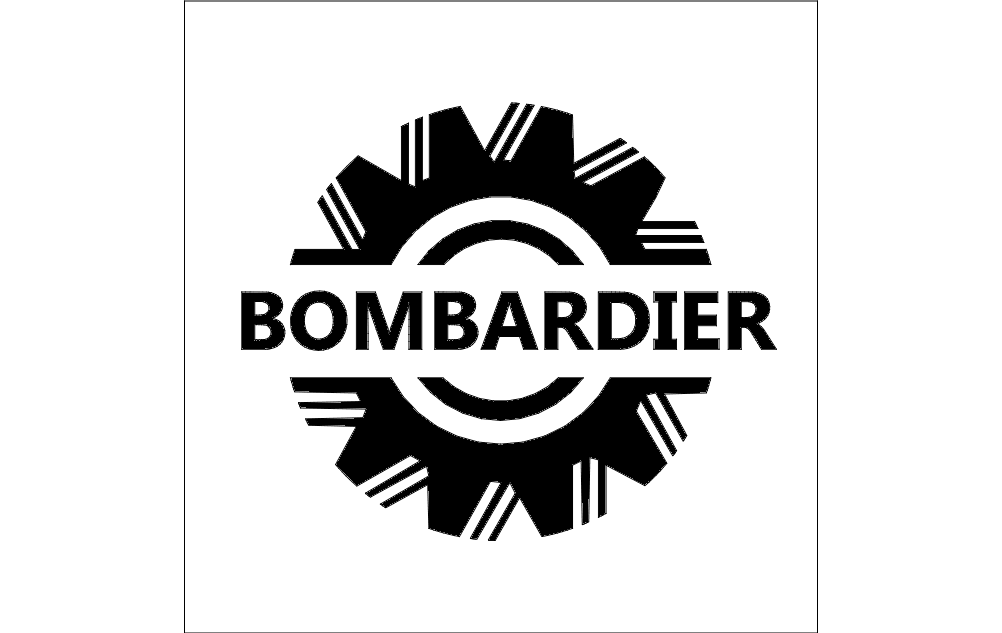 bombardier logo dxf file free download 3axisco