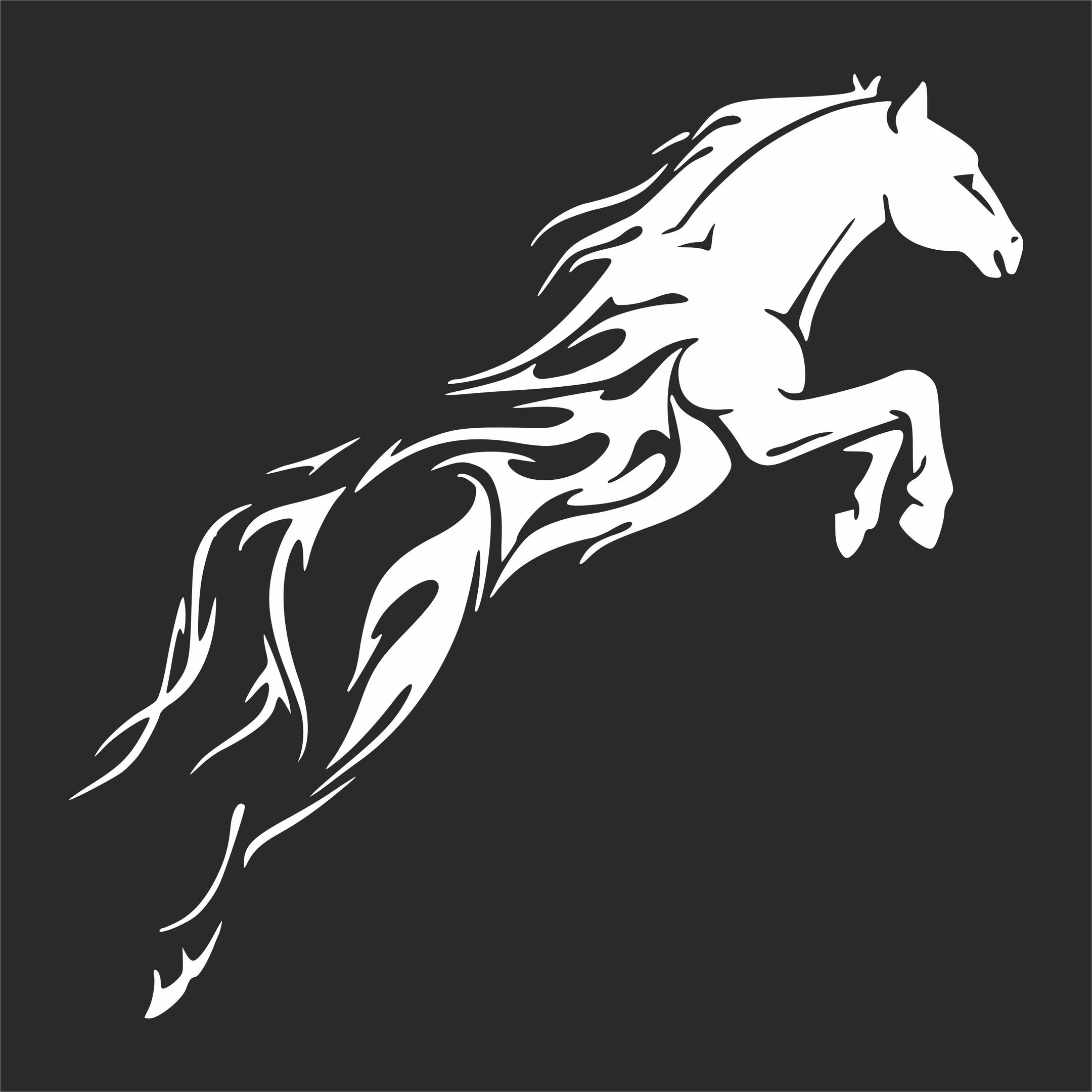 Tribal Horse * Plottdatei
