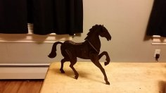 Horse 3D Puzzle 2mm dxf File