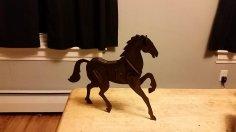 Horse 3D Puzzle 2mm dxf File