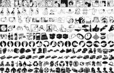 Comic Book Vector Art CDR File