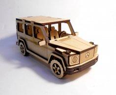 Mercedes-Benz G-Class 3D Puzzle CDR File