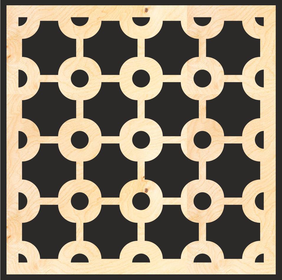 Decorative Wood Lattice Panels Pattern Free Vector cdr