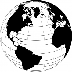 World Globe Vector CDR File