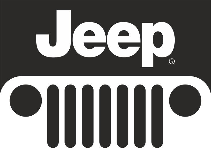 Jeep Logo Sticker CDR File