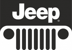 Jeep Logo Sticker CDR File
