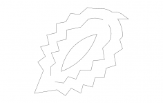 Pinecone 3d dxf File