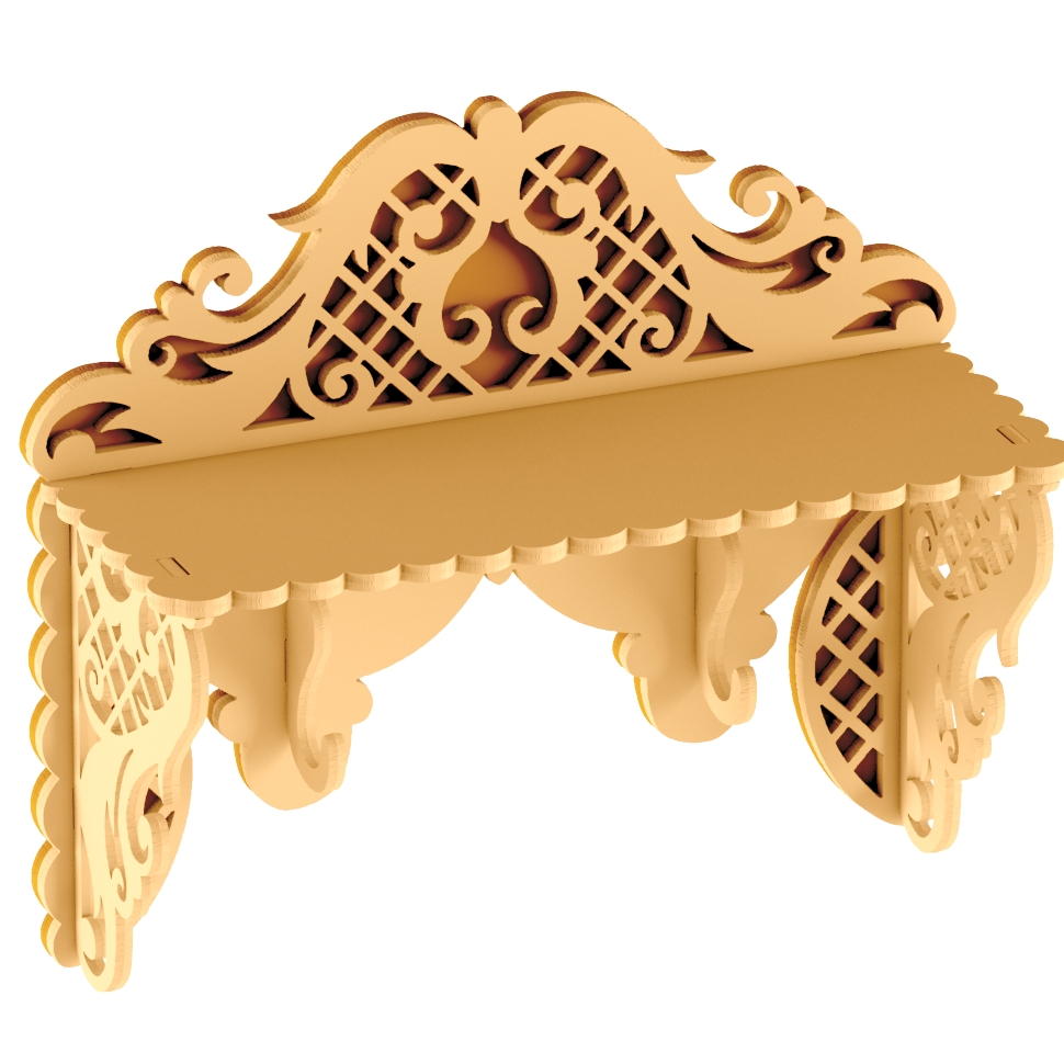 Laser Cut Plywood Shelf Dxf File Free Download 3axis Co