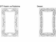 Dekor Ayna dxf File