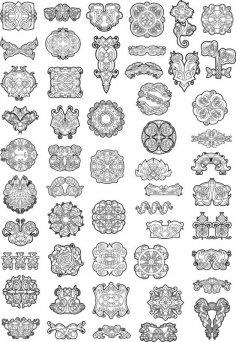 Celtic Ornaments Vector Pack CDR File
