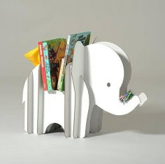 Elephant Storage 3D Puzzle CDR File