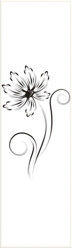Flower Vector CDR File