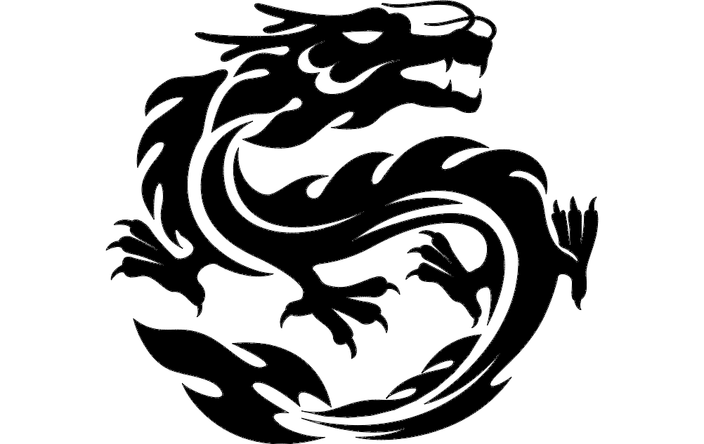 Dragon dxf File Free Download - 3axis.co