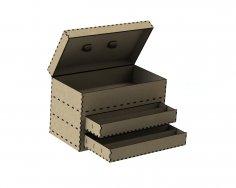 Laser Cut Tool Box DXF File