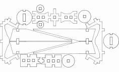 Tieismall dxf File