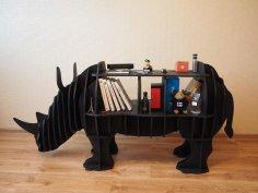Rhino shelf plan vector 8mm CDR File