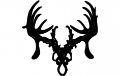 trophy hunter 12 inch Dxf Cut Path File