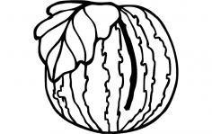 Watermelon dxf File