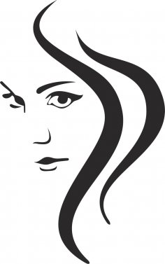 Woman Silhouette CDR File