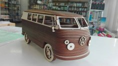 Vw Camper Van CDR File