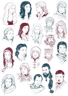 Game of Thrones Cast CDR File
