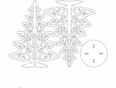 Tree 1 11in dxf File