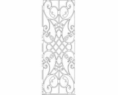 Grille Pattern 02 dxf File