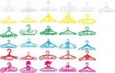 Hangers Vector Pack CDR File