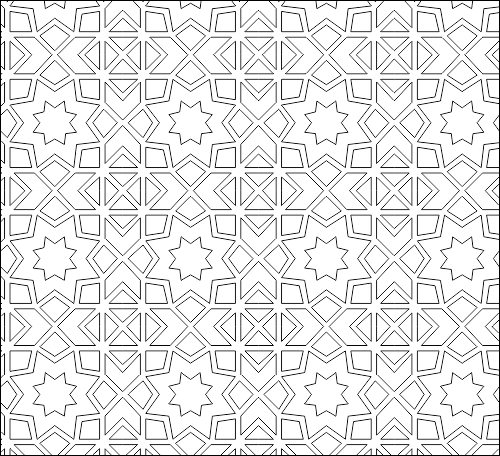 geometric pattern dwg file free download