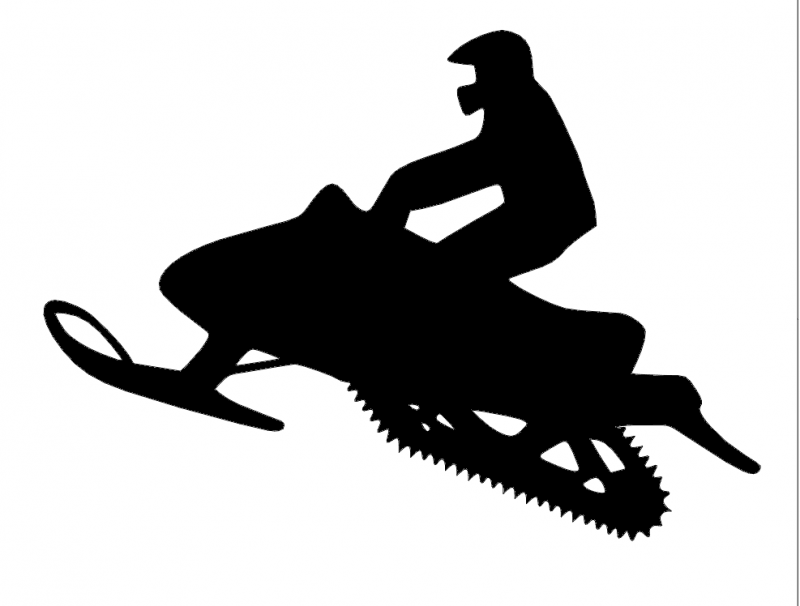 snowmobile dxf file free download