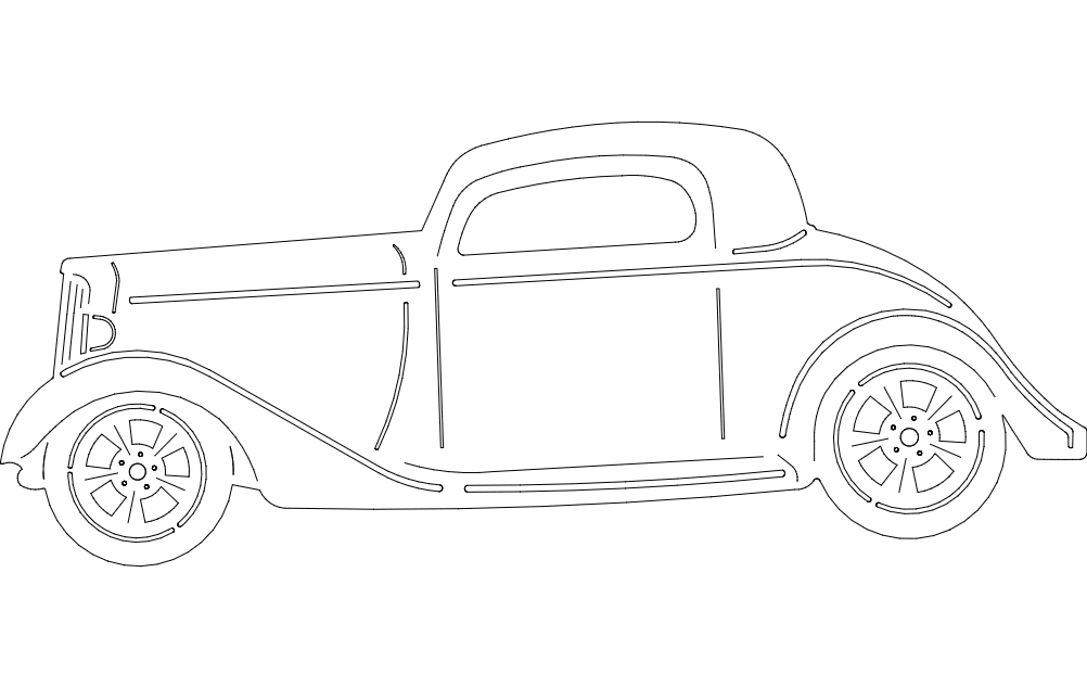 34 chevy dxf file free download