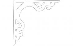 Decor Corner dxf File