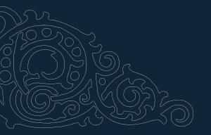Swirly Corner dxf file