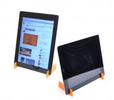 Laser Cut iPad Stand CDR File