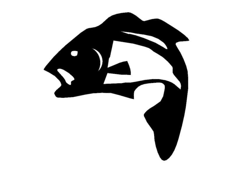 Fisherman Fish Dxf File Free Download 3axis Co