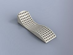 Chaise Longue 19mm Flat dxf File