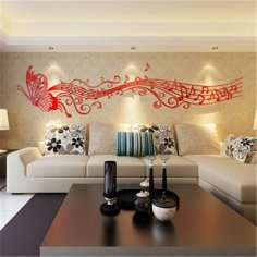 Decor Wall dxf File