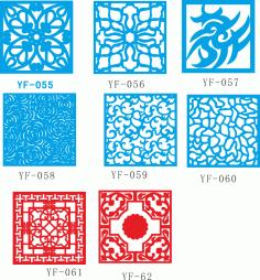 Vectors for decorative panels CDR File