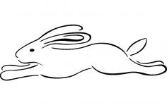 Rabbit dxf File