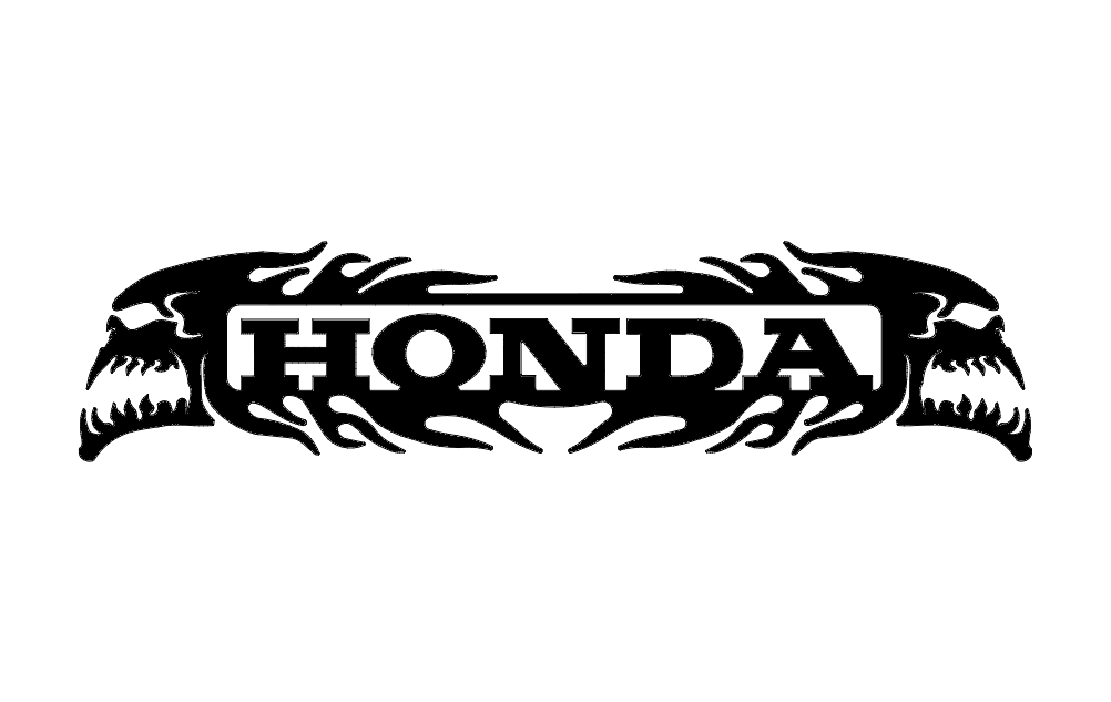 Honda Skulls Dxf File Free Download 3axis Co