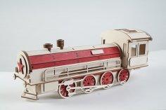 Gift wrap-lokomotive CDR File