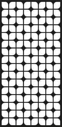 Jali Design vector art dxf File