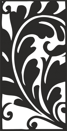 Classical Traditional Floral Pattern Vector CDR File