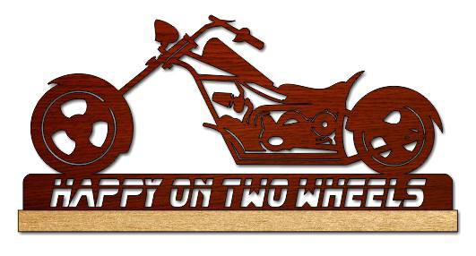 Chopper Motorcycle Scroll Saw Pattern Pdf File Free
