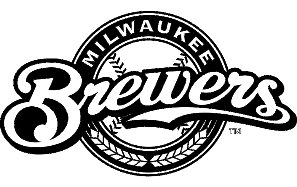 milwaukee brewers logo dxf file free download