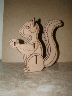 Squirrel For Sarah dxf File