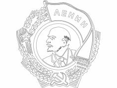 Lenin dxf File