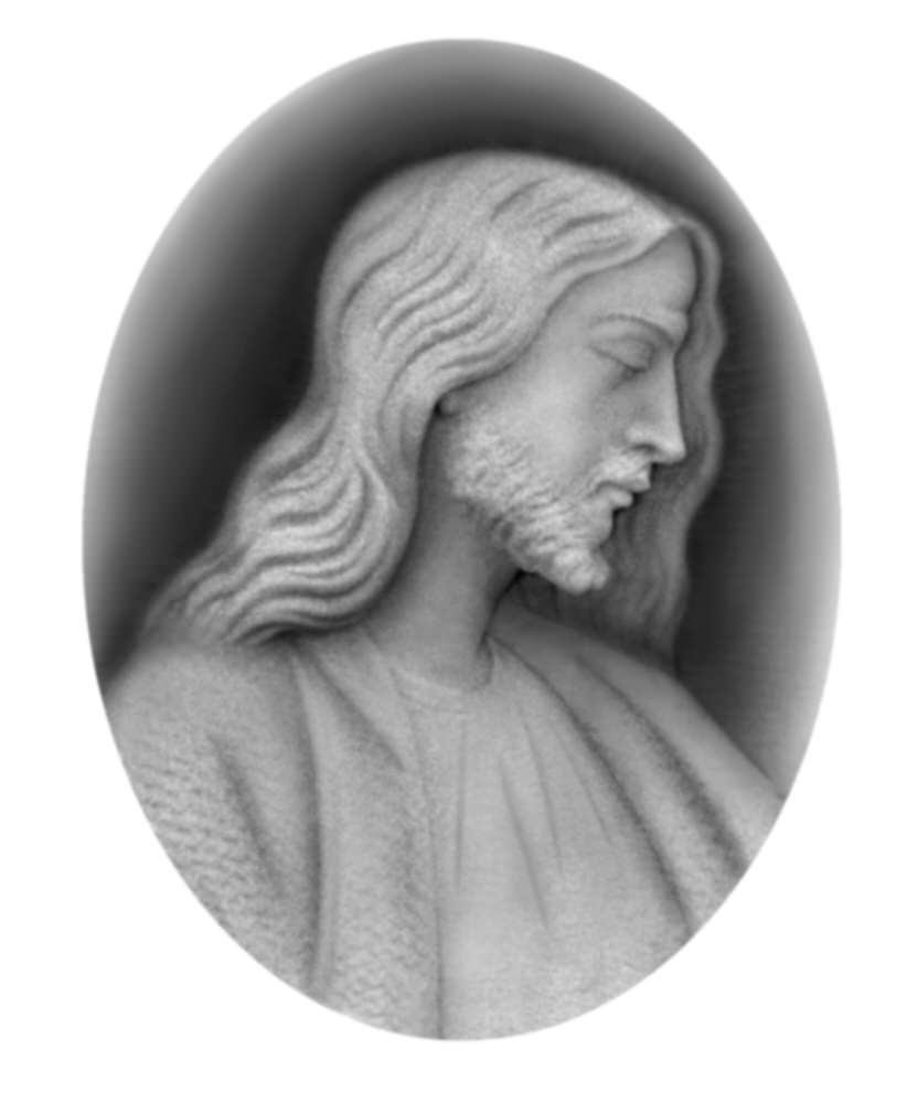 Christ 3d Relief Grayscale Image Bitmap Bmp Format File Free Download 3axis Co