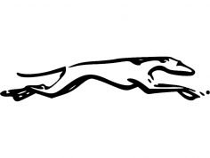 Grey hound dxf File
